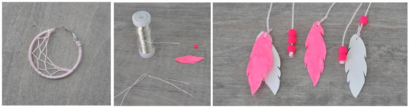 Astuce - plumes en papier