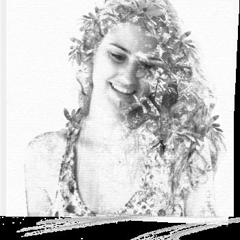 Autoportrait Deelina